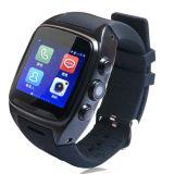 Relógio de pulso Android da câmera da fábrica com o telefone esperto do relógio do GPS WiFi