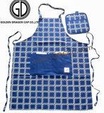 Fördernde Baumwoll-Polyester-Küche, die Schutzblech mit kundenspezifischem Stickerei-Firmenzeichen kocht