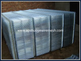 Clôture en maille galvanisée en PVC galvanisé pour sécurité Bâtiment de jardin