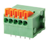 TB de ressort du bouton-poussoir Screwless/PCB (WJ142V-5.0/5.08)