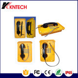 トンネルの電話Knsp-09産業自動ダイヤル電話Sos緊急時の電話