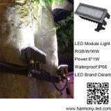 Più nuovo indicatore luminoso del modulo di Osram LED del giardino di disegno IP66 6W