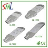 Smlドライバーおよび3年のの100W LEDの街灯保証のコンパクトデザイン(SL-100B5)