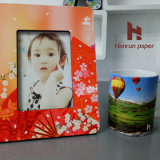 A4/A3 Sheet Size 100GSM Anti-Curl Sublimation Transfer Printing Paper para Mouse Pad, Mug, Hard Surface y Gifts