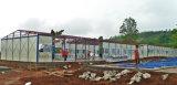 Indonesia prefabricó la casa del panel modular de emparedado para el minero