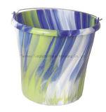 プラスチック水バケツ。 ハンドルとの産業使用のためのバケツの注入型