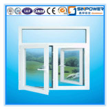 Jiangsu-Landhaus-hölzernes zusammengesetztes Aluminiumfenster, festes rote Eichen-Fenster u. Lack-Fertigstellung