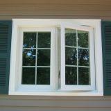 Thermischer Bruch-Aluminiumflügelfenster-Fenster
