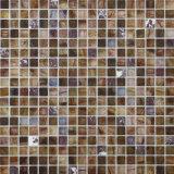 Mattonelle di mosaico di marmo per il pavimento della parete interna