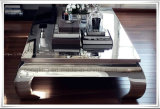 上ガラスが付いている金属フレームの卸売の茶表のコーヒーテーブル