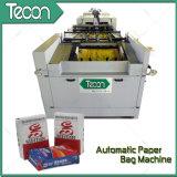 Bolsa de papel de la válvula de la impresión del Cuatro-Color que hace la máquina