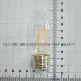 LED 필라멘트 램프 C35 2W E14/E27/B22