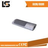 Carcaça de alumínio do projector do diodo emissor de luz do OEM e de lâmpada do diodo emissor de luz peça