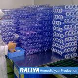 Equipo médico de la máquina de la fabricación de Polyethersulfone Dialyzer de la polisulfona del filtro de la sangre de la diálisis