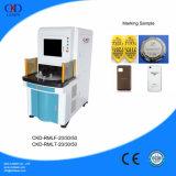 Machine d'inscription de laser de fibre avec la fonction rotatoire