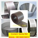 Acero suave Acero inoxidable Metal de aluminio perforado Hoja de red de malla