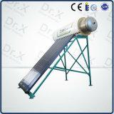 El tanque solar a presión del calentador de agua del acero inoxidable