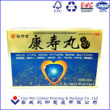 Самая лучшая продавая коробка карточки золота верхнего качества бумажная упаковывая