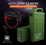 빠른 Charger 12V/12000mAh Emergency Battery 다중 Function Car Jump Starter Power 은행 황소 V6