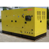 Sale caliente 125kVA Soundproof Type Diesel Generator con Cummins Engine
