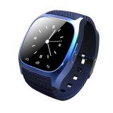 Montre intelligente de poignet imperméable à l'eau de Gelbert Bluetooth pour IOS androïde Samsung