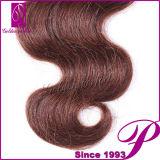 Aceitar a tecelagem peruana do cabelo do Virgin de trama dobro por atacado de Paypal