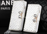 LuxuxCrystal Diamond PU Leather Wallet Phone Fall für iPhone6