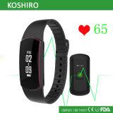 Reloj impermeable de la pulsera de la venda de la aptitud de Bluetooth