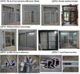 PVC 여닫이 창 Windows 공장 (PVC-W012)