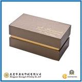 Caja de embalaje de papel redonda de la raya blanco y negro (GJ-Box060)