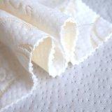 Stof van de Laag van de Lucht van de Jacquard van de Polyester van 100% de Witte voor de Matras van het Schuim van het Geheugen/de Textiel van het Huis