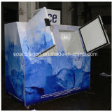 Cer genehmigtes einfrierendes eingesacktes Eisspeicher-Sortierfach mit Firmenzeichen-Gestaltungsarbeit