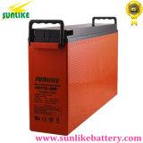 Bateria Telecom terminal dianteira recarregável 12V100ah com durabilidade elevada