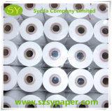 Roulis de papier thermosensible de papier de fax de pâte de bois