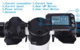 Kohlenstoff-Faser elektrisches Scooty, das elektrischen Roller mit 24V, 10.8A, Motor 250W faltet