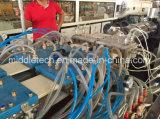 (CE) máquina da extrusão painel de parede do perfil do teto do peitoril do indicador do PVC da extrusora/da borda/tubulação cónicos plásticos de borda