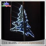 Luz de rua ao ar livre impermeável do motivo da estrela da decoração da rua do diodo emissor de luz