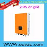 2kw qualità di griglia dell'invertitore di energia solare di griglia su buona dell'invertitore poco costoso del legame sull'invertitore di griglia