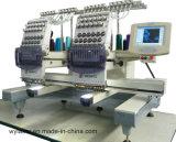 As Multi-Cores dobro das cabeças computarizaram a máquina tubular Wy1202 do bordado das Multi-Funções da boa qualidade da máquina do bordado
