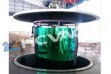 Лакировочная машина цвета трубы PVD листа нержавеющей стали Titanium, оборудование для нанесения покрытия вакуума золота олова