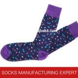 Cotone 100% di Men Sock