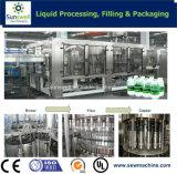 Автоматические разливая по бутылкам 3 в 1 заводе минеральной вода