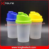 500ml BPA освобождают пластичную бутылку трасучки протеина с фильтром (KL-7012B)