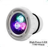 Luz Nl-6031h de la charca de la piscina de la luz IP68 de la piscina del RGB