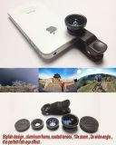Heißer Sale Handy Lens 3 in 1 Fisheye Lens Wide Angle Lens Marco Lens für Handy Smart Phone