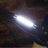カスタマイズされた自転車ライト120lm赤い白LED IP68の再充電可能な後部バイクのテールライト