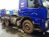 Camion di rimorchio utilizzato 8*4-LHD-Drive Originale-Rosso/blu del trattore di 30ton Volvo FM12 420HP