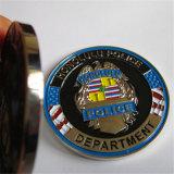 Moeda do metal da polícia 3D de Honolulu da qualidade