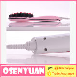 OEM Best Quality con affissione a cristalli liquidi Display Hair Straightener Brush