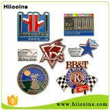 Оптовый значок Pin отворотом металла Customed высокого качества